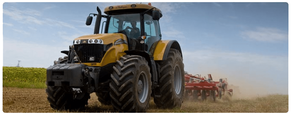 Agricultural equipment metal parts
