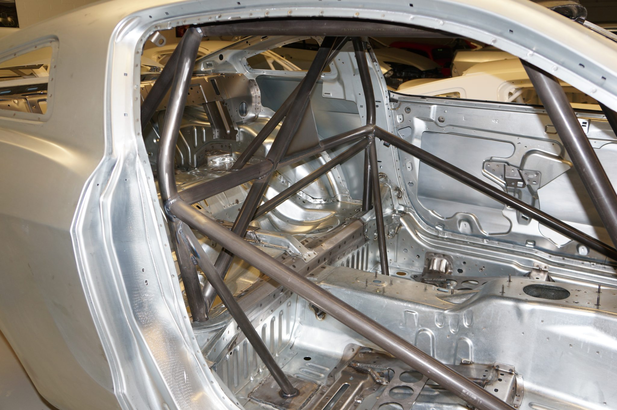 Mustang Drag Racing Roll Cage In Body In White Watson