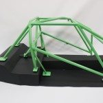 drag race roll cage - scale model