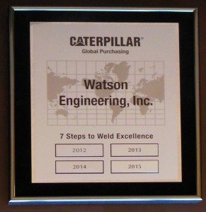 Welding Excellence Certification
