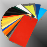 Contact Powder Coating - Color samples