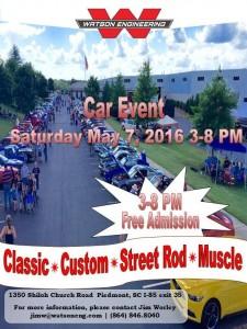 2016-05-07WatsonEng-Car-Event