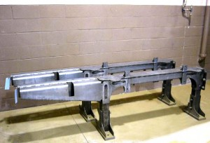 heavy fabrication large frame rail